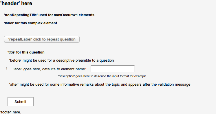 GitHub - davidmoten/xsd-forms: Generates web forms from xml schema