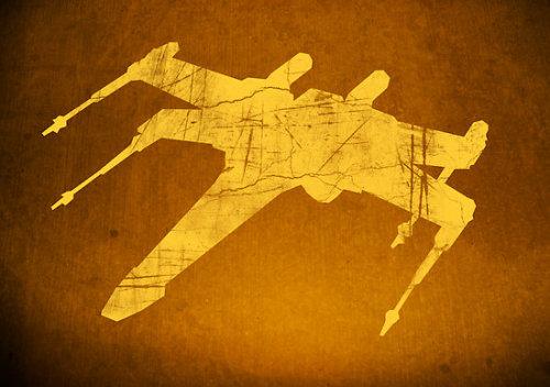 X Wing art by Paul Harckham