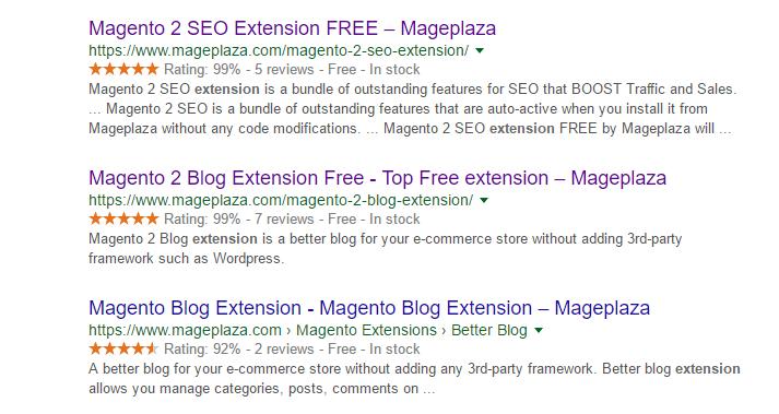 Magento 2 structured data