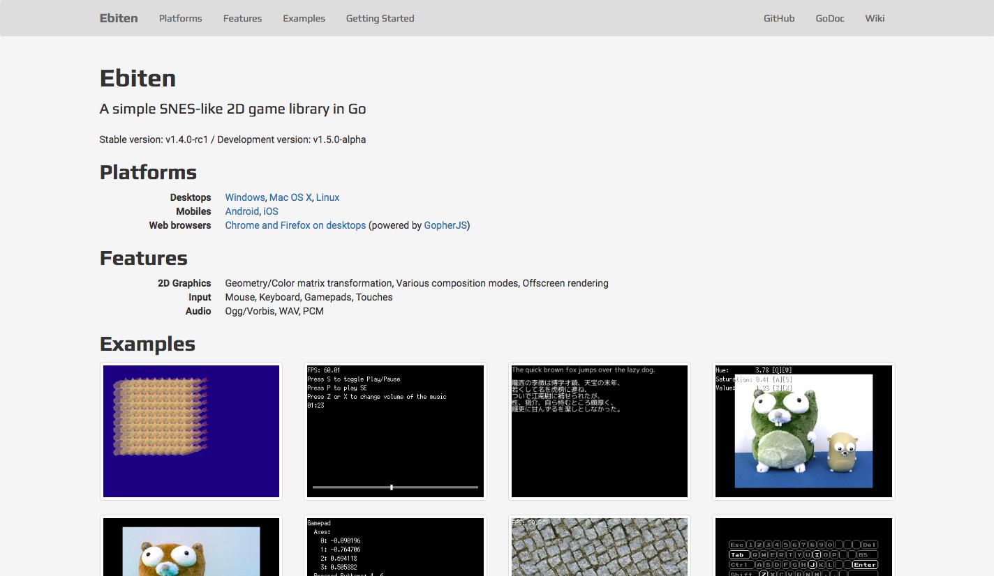 Tutorial:Your first game in Ebiten · hajimehoshi/ebiten Wiki