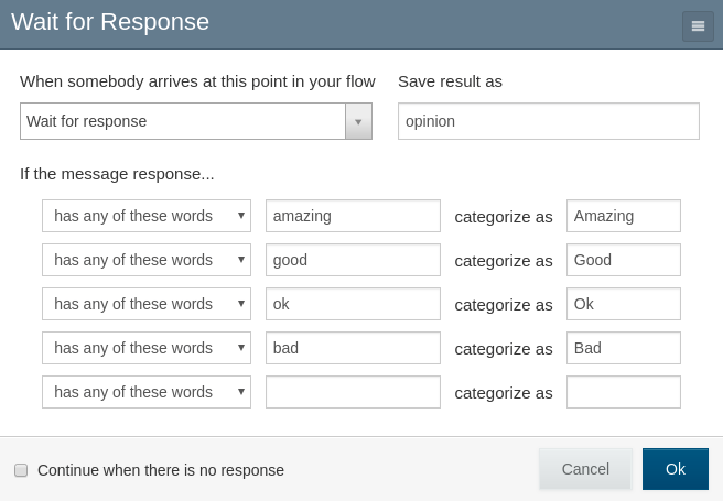 CategorizedWaitForResponse