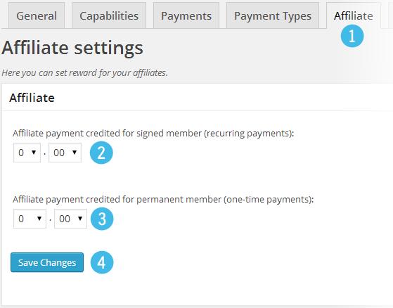 Affiliates - Directory add-on