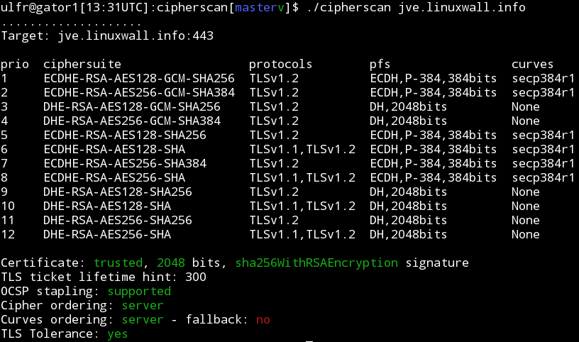 GitHub - mozilla/cipherscan: A very simple way to find out which SSL ...
