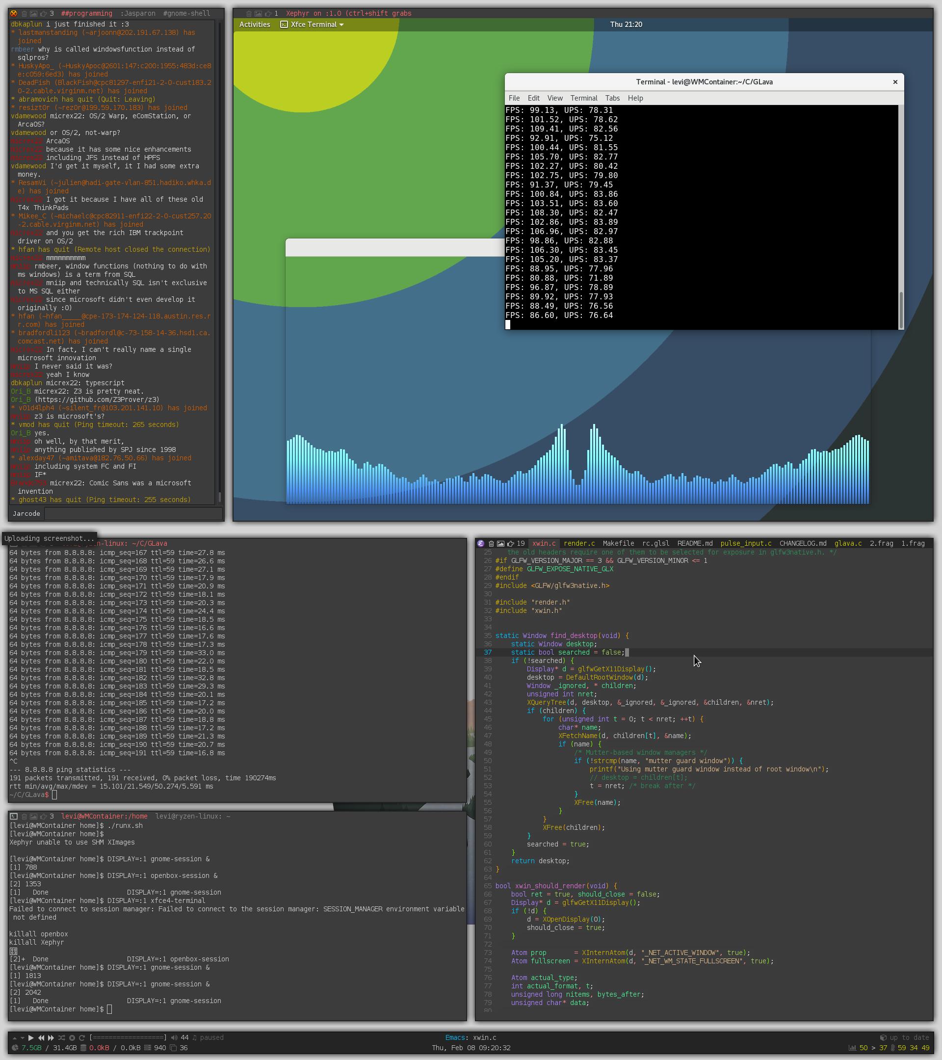 xroot' opacity broken on Mutter (GNOME, Budgie desktop