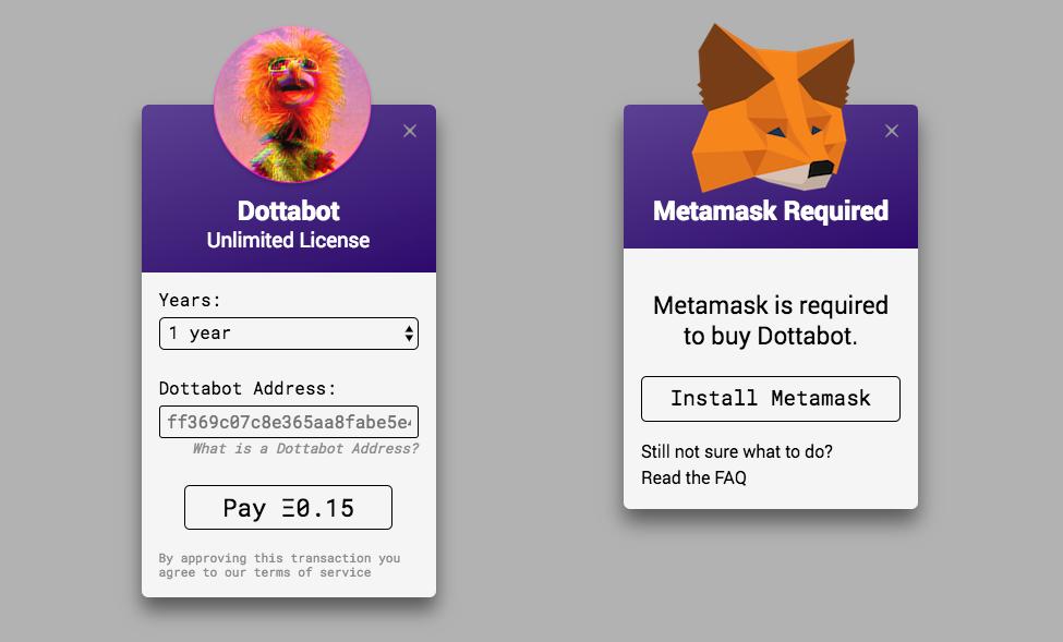 GitHub - cryppadotta/dotta-license: ERC721-based Software