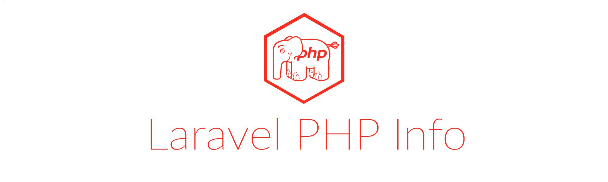 Laravel PHP Info