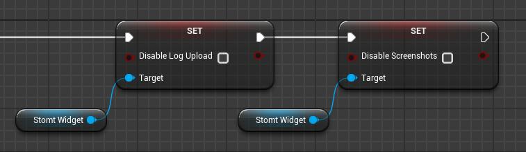 STOMT Plugin configuraton