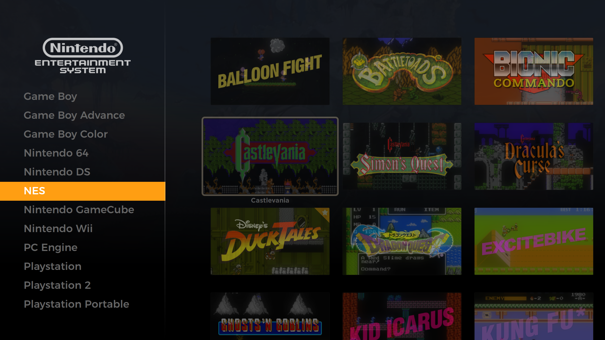 GitHub - PlayingKarrde/gameOS: Pegasus Frontend theme gameOS