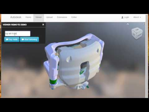 viewer-remote for Autodesk Forge Viewer