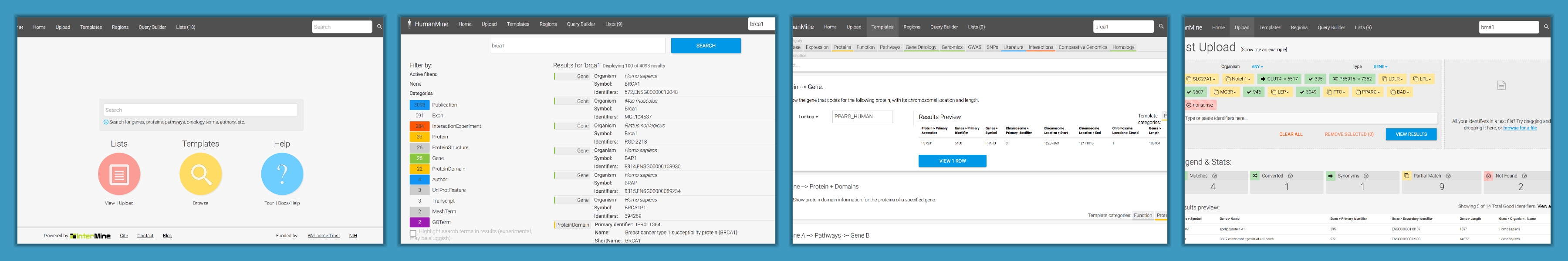 BlueGene screenshots