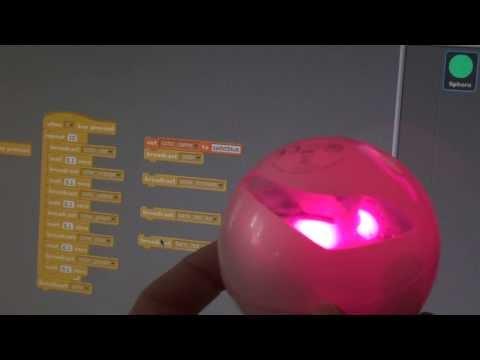 Sphero colors via Scratch