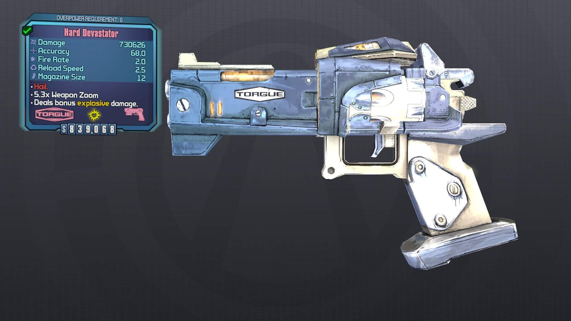 Hammerlock Seraph Weapon Skins DLC1 Style · BLCM/ModCabinet