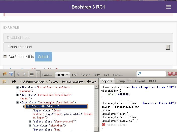 Form Inline Rm Control Bug Fixed Issue 8732 Twbsbootstrap