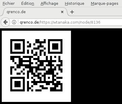 qrenco.de in browser