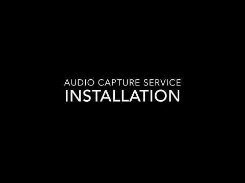 GitHub - martoreto/audiocapture: Audio Capture Service for