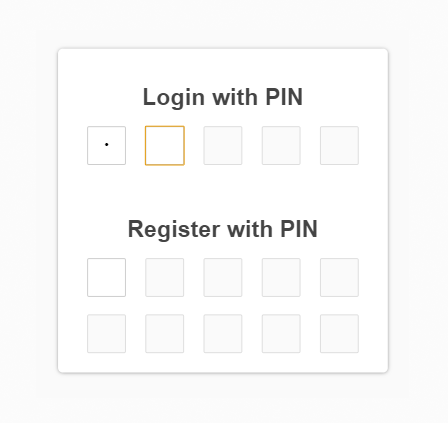 GitHub - bobhageman/jquery-pinlogin: jQuery plugin to create