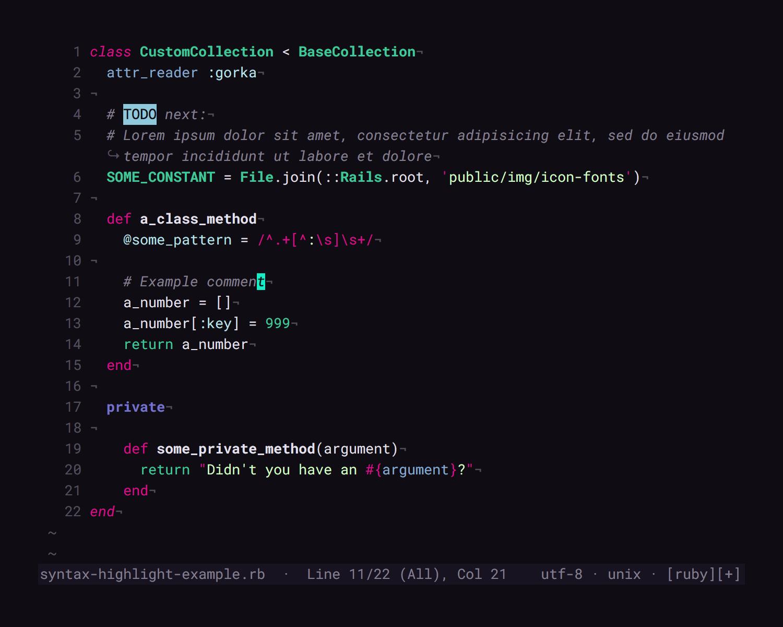 GitHub - cseelus/vim-colors-lucid: A color scheme for VIM