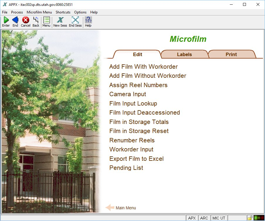 Microfilm Edit Menu · AXAEM-Users/AXAEM-Documentation Wiki