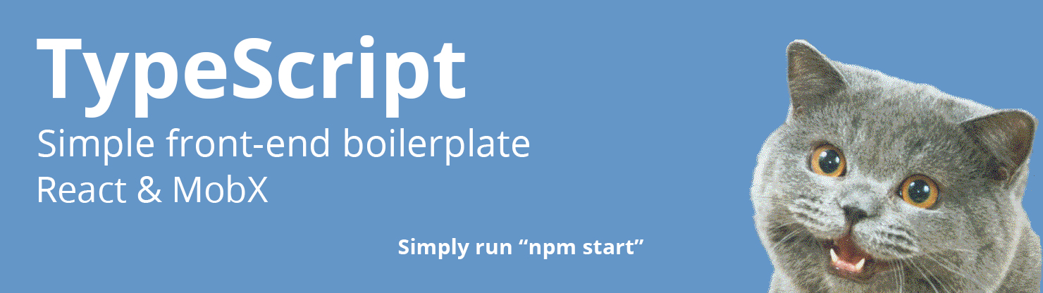 lozinsky/typescript-react-mobx-boilerplate - Libraries io