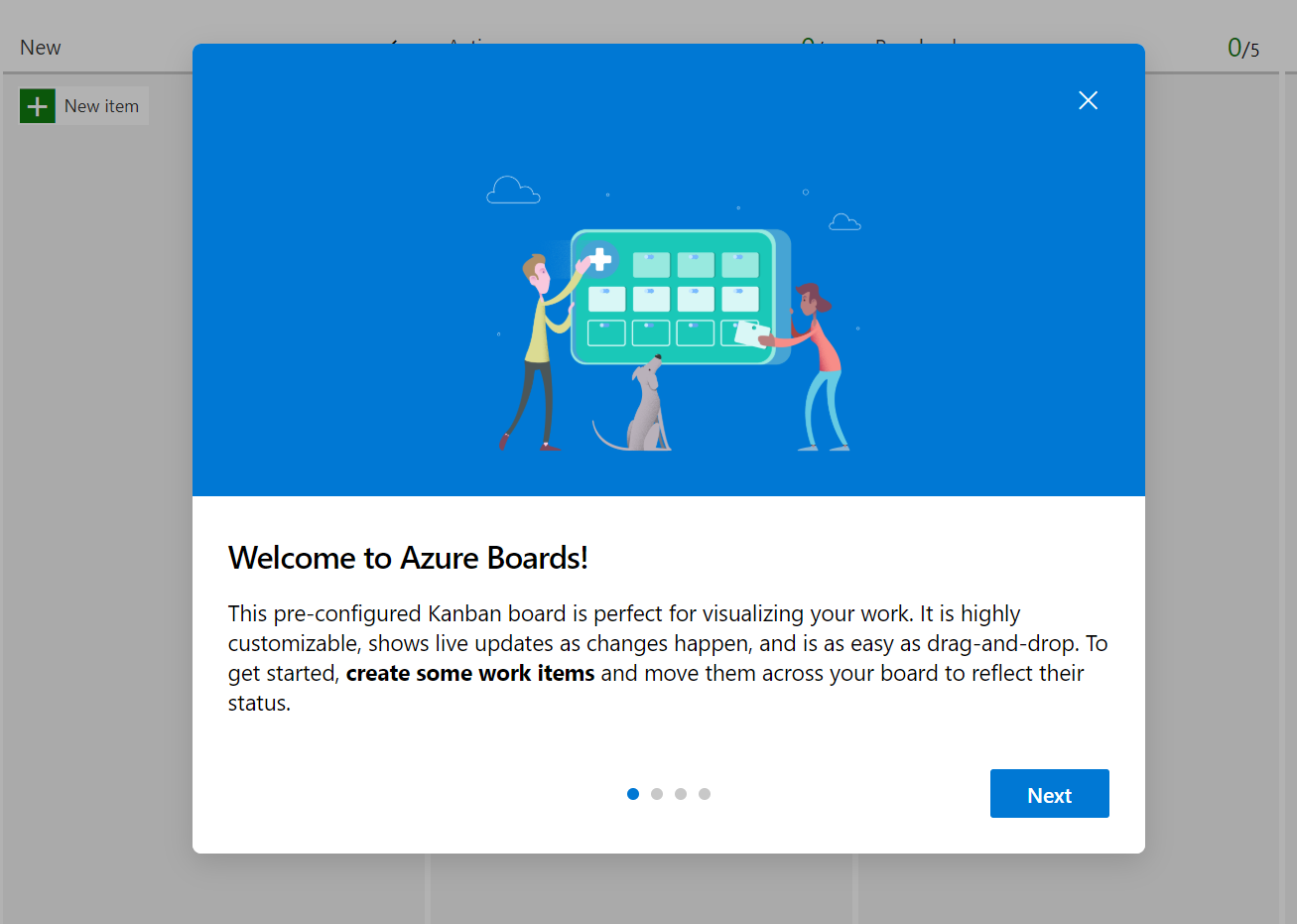 Azure Boards Welcome
