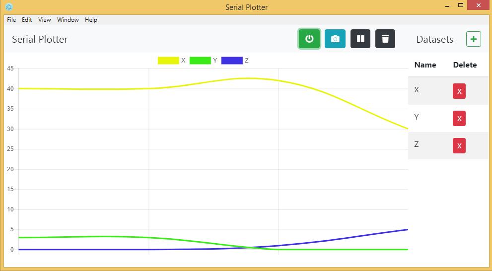 GitHub - ItayRosen/Serial-Plotter: Plot real-time charts
