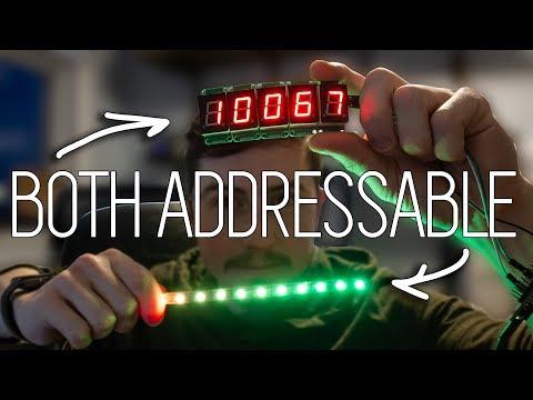 Addressable 7-Segment Display Video