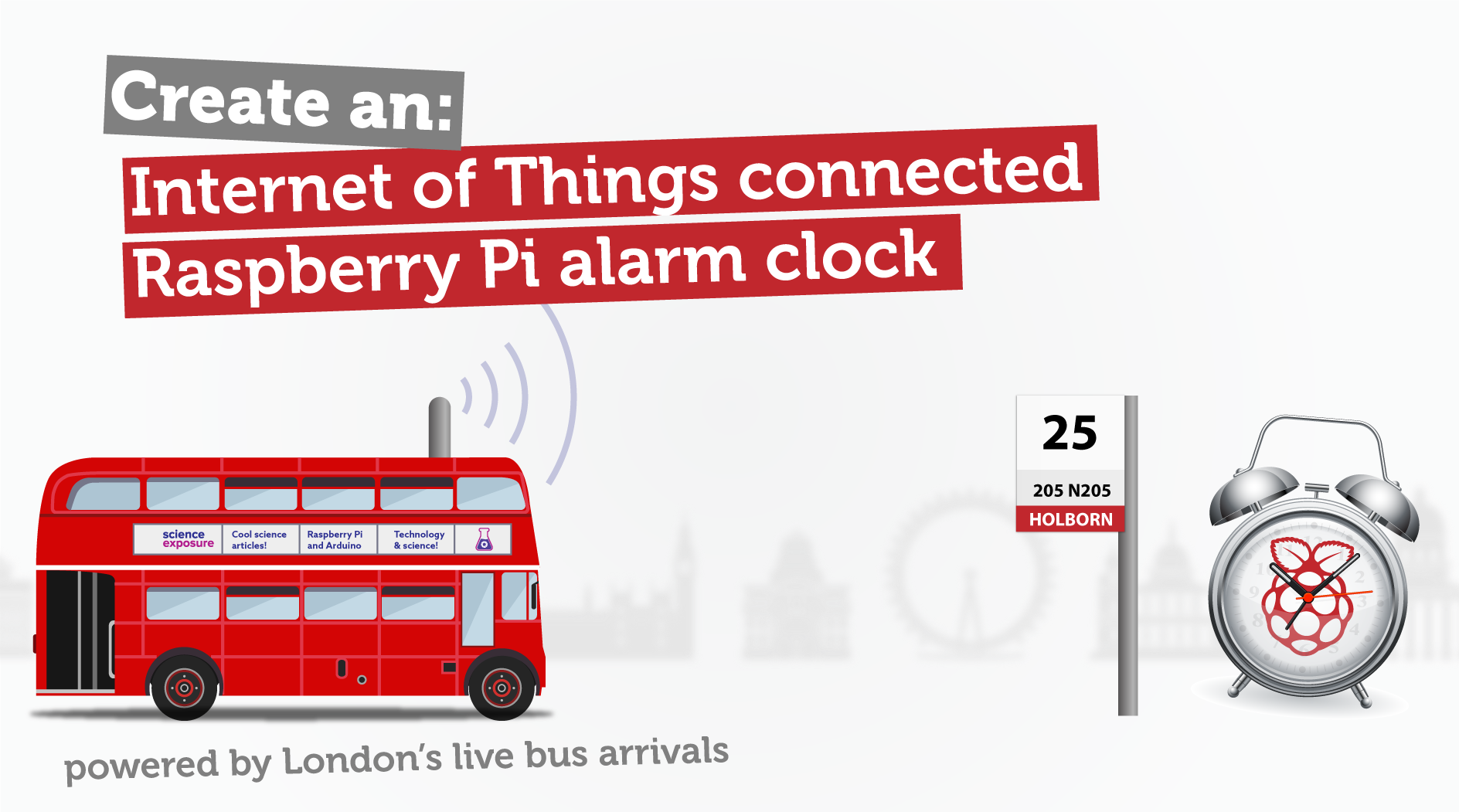 IoT London bus alarm