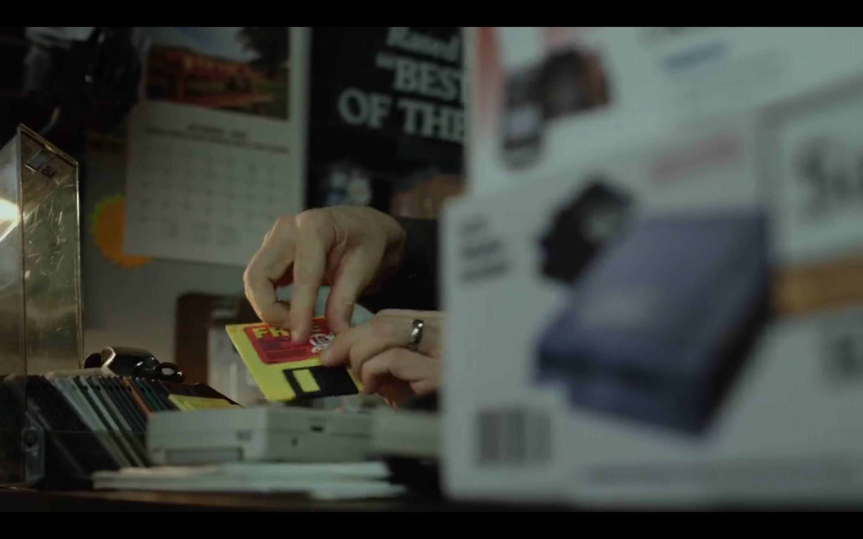 Mr. Robot redirecionando disquetes,: robot: screenshot 📷