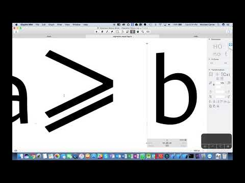 Using Glyphs app to create ligatures for Operator Mono font
