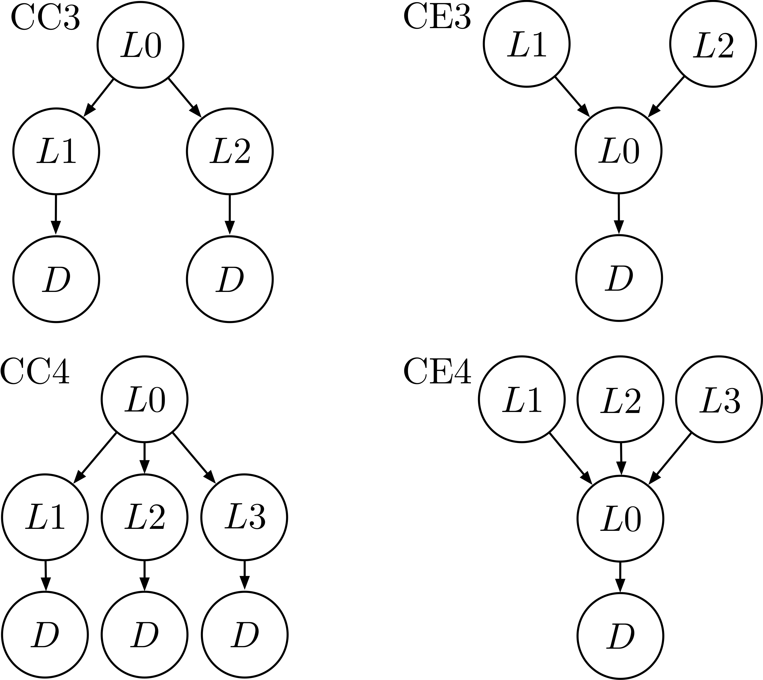 causal structures