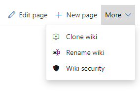 Rename wiki
