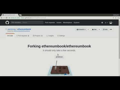 Ethereum Book Pull Request Tutorial