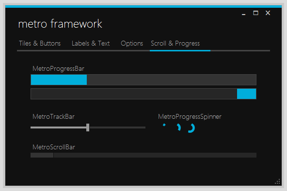 Apply style to scrollbar wpf