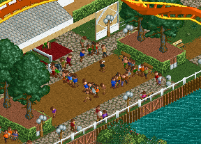 People getting lost in OpenRCT2, but not in RCT2 · Issue