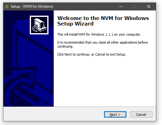 NVM for Windows Installer