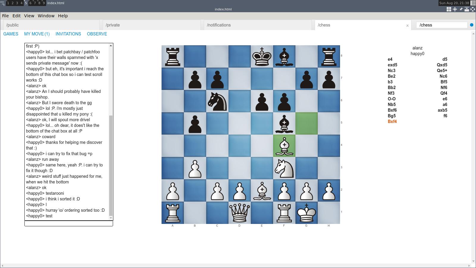 A screenshot of ssb-chess