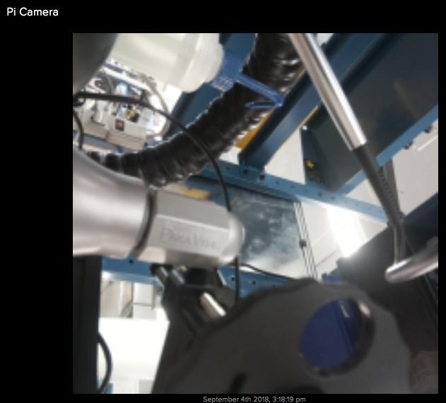 Adafruit IO Camera Feed Screenshot