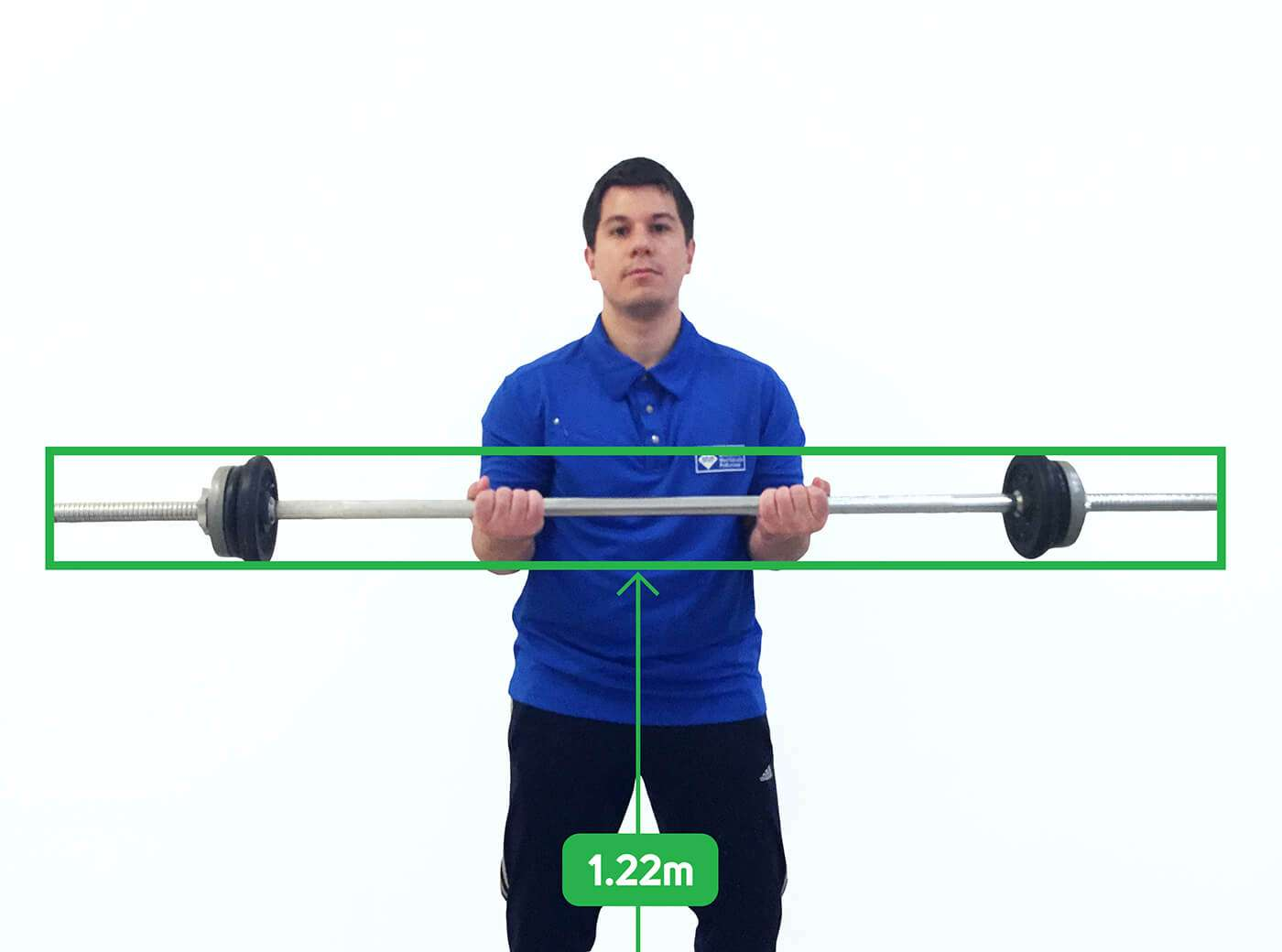 Kinect Weight Lifting Bar Detection - Vangos Pterneas