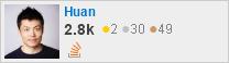 Profile of Huan LI (李卓桓) on StackOverflow