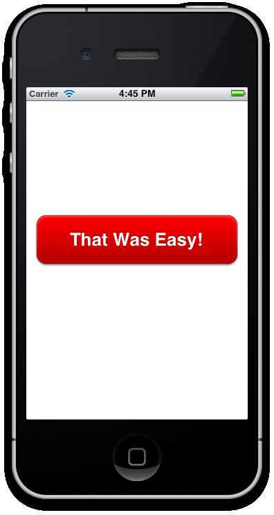 Easy Button Screenshot