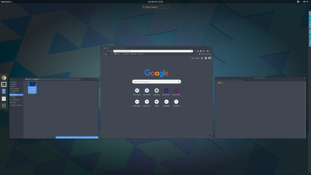 Gnome 3 Workspaces