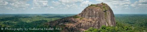 Inselberg in Guiana Amazonian Park