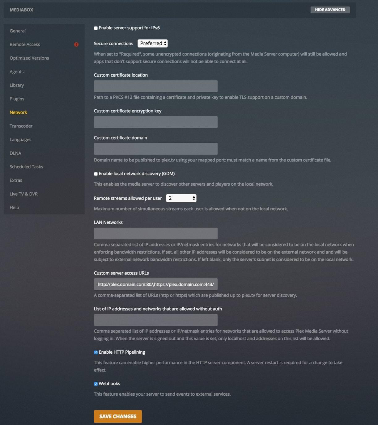 Install: Plex Media Server · Cloudbox/Cloudbox Wiki · GitHub