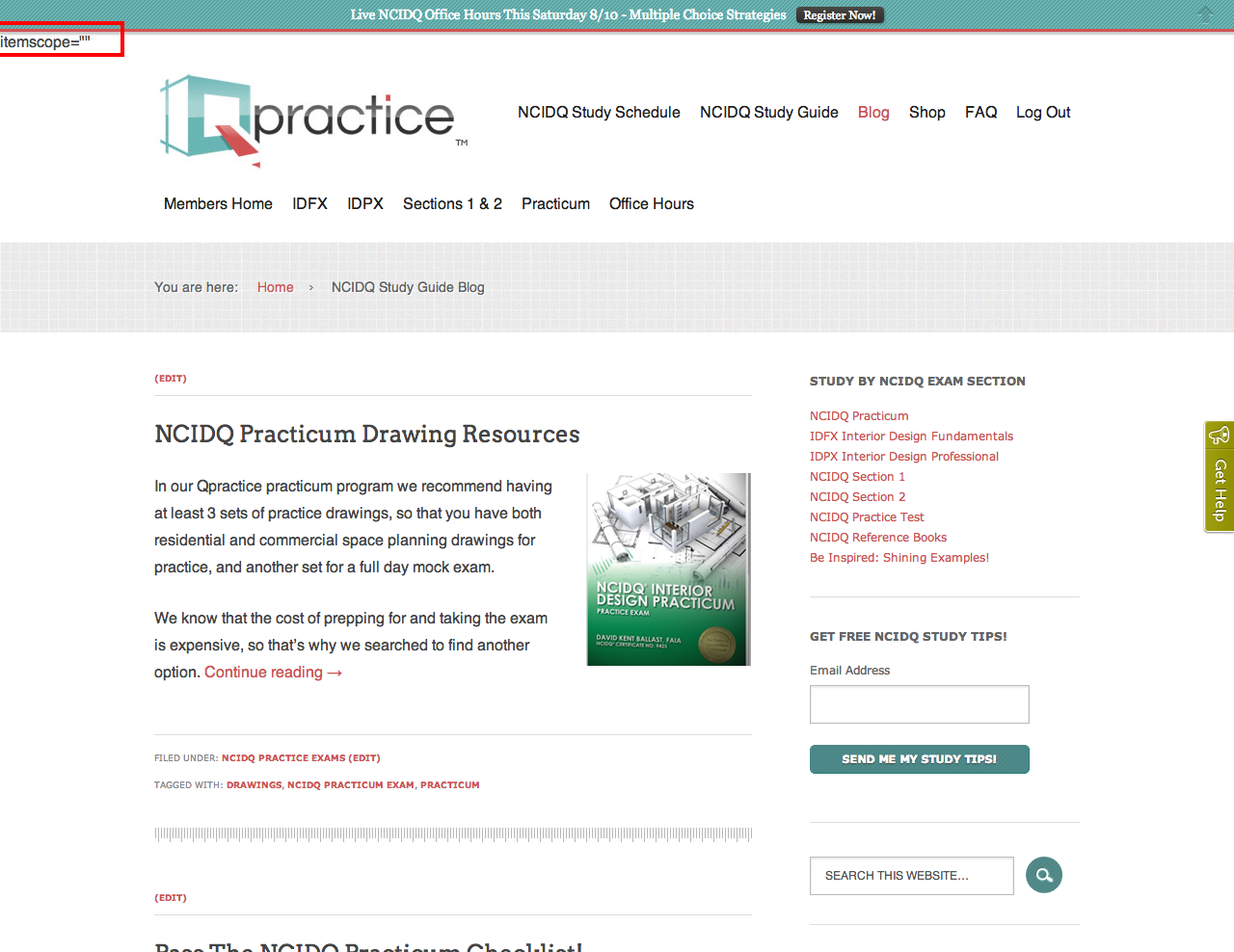 ncidq blog and study guide ncidq exam prep tips