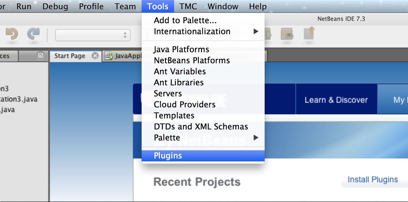 NB Plugin -> Settings
