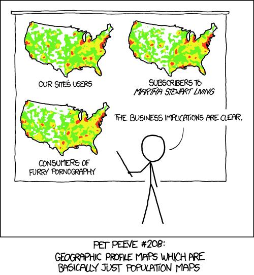 xkcd:heatmap