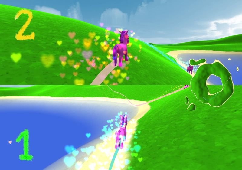Pink Pony gameplay screenshot