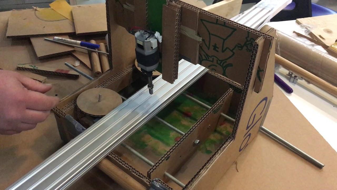 Cardboard machine intermediate demo