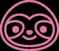 Pink Sloth Logo