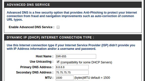 DNS issues could be your router!